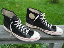 US Keds / Hi-Top Black Canvas Sneakers / US Men: 9 / Gently Used / Made in USA