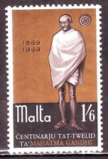 Malta(Europe)-Gandhi 1/6 MNH Condition Stamp #G15