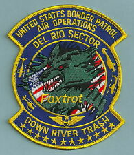 DEL RIO SECTOR TEXAS POLICE AIR UNIT PATCH