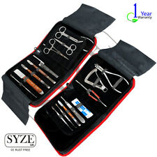 Dental Practise Set Root Canal Scalar Periodontic Forceps Wax Lab Ortho CE SYZE