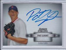 PAT LIGHT 2012 BOWMAN STERLING REFRACTOR AUTO /199