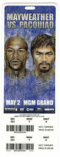 Floyd Mayweather Manny Pacquiao Fight Ticket Stub $1500 face MGM Grand Used