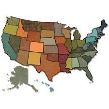 """TIM HOLTZ """"UNITED STATES"""" THINLITS DIES 660228 - NEW"""