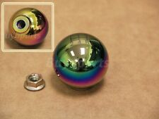 Neo Chrome aluminum 2' ball style 5 speed Shift KNOB M10x1.5 for Acura & Honda