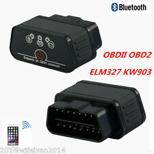 KW903 ELM327 WiFi OBD2 OBDII Bluetooth Car Diagnostic Scanner Tool For Android