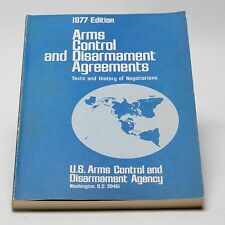 U.S.ARMS CONTROL AND DISARMAMENT AGREEMENTS 1977 ARMS CONTROL