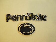 Lot of 2 Penn State University Nittany Lions Embroidered Iron On Patches #8