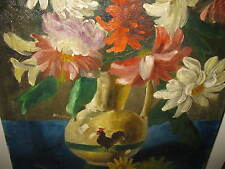 WESTHOFF, *XX.Jhd. Großes Blumenstilleben II
