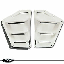 2005+ POLARIS IQR / 600RR Snowmobile Racer PDP PREMIUM Middle Vent Kit: WHT