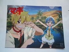 Official  Magi Alibaba and Aladdin Clear File