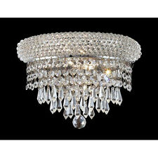 Palace Bage P 2 light Crystal Wall Sconce-  Chrome Precio Mayorista