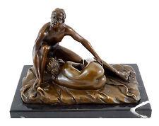 Blow Job / Sex-Szene - Erotische 2- teilige Bronzefigur - M.Nick