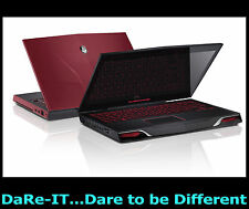 "DaRe UFO Alienware M14x RED +SSHD +Win7 or Win10 orp£1299 14.1"" Gaming Laptop"