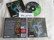 Alien Trilogy PS1 (COMPLETE) FPS black label Sony PlayStation rare shooter