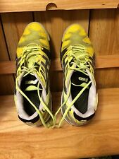 ASICS E300Y GEL RESOLUTION 5 TENNIS SHOES MENS Sz 10.5 Green Black