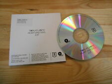 CD Indie Twin Atlantic - Heart And Soul (1 Song) Promo RED BULL REC cb