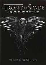 COFANETTO DVD - IL TRONO DI SPADE SERIE STAGIONE 04 (5 DVD) - Nuovo!!