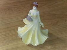 "COALPORT FIGURINE DEAREST IRIS""THE FLOWER LADIES COLLECTION"" LTD/ED =2000, 1ST,Q"