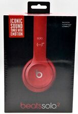 NEW in Sealed box Beats Dr.Dre Solo2 Over-Ear wired Headband Headphone Red