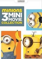 Minions: 3 Mini-Movie Collection DVD Brand New Ships Worldwide