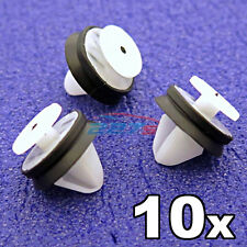 10x Peugeot Door Card, Trim Panel & Pillar Clips with rubber seal- 6991.Y8