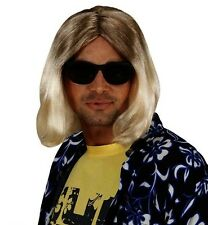 Blonde Kurt Cobain Wig 90s Grunge Fancy Dress Grunge Nirvana Rock