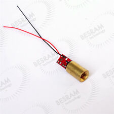 INDUSTRIAL LAB 3.0VDC 650nm Red Laser 90mw-100mW-110mw DOT Module Diode Lazer