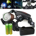 UltraFire High Power Headlamp CREE XM-L 5000LM T6 LED Head Light+18650+Charger