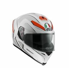 AGV K-5 CASCO INTEGRALE AGV K5 K-5 MULTI - YOU WHITE/MATT-ORANGE TAGLIA M/S
