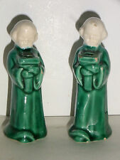 05B28 LOT DE DEUX BOUGEOIRS TABLE FÊTE DE NOEL ANGES ANGELOTS BARBOTINE 1950