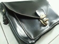 New Leather  Sling Bag in Black