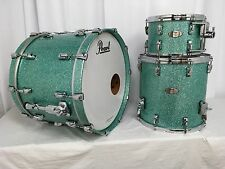 Pearl Reference 3 Piece Drum Kit/Glacier Blue Sparkle/# 834/RARE FINISH!/New