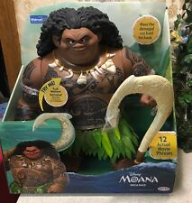 Disney Moana Mega Maui Figure 12 Movie Phrases And Song Your Welcome