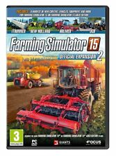 Farming Sim 15 Expansion 2 (PC DVD) BRAND NEW SEALED 2015