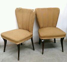 Eccezionale coppia di poltrone anni '50 stile Mollino - Gio Ponti - Fornasetti