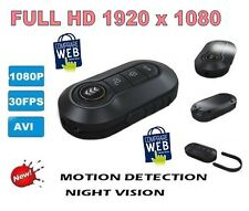 TELECOMANDO SPIA VIDEO FULL HD 1920X1080 PORTACHIAVI PENNA SPY TELECAMERA + 16GB