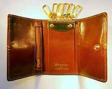 LADIES' / MEN'S ITALIAN DESIGNER LEATHER KEY CASE