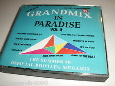 GRANDMIX IN PARADISE VOL II THE SUMMER 90 OFFICAL BOOTLEG MEGAMIX 2 CD S BIGBOX