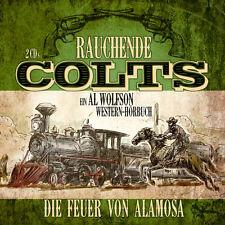 CD Rauchende Colts Die Feuer von Alamosa   2CDs ein Al Wolfson Western Hörbuch