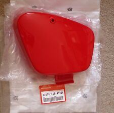 Honda CT90 CT110 Battery Side Cover 83600-459-910ZA CT 90 CT 110 Monza Red R110
