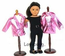 """Pink Ladies Grease Costume Complete Set for 18"""" American Girl Doll Best Quality"""