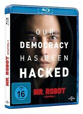 OUR DEMOCRACY HAS BEEN HACKED - MR.ROBOT-STAFFEL 1 2 BLU-RAY NEU
