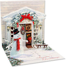 Holiday Door - Up With Paper Pop-Up Christmas Card by Up With Paper