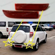 Rear Bumper Reflectors Pair LH & RH For Toyota RAV4 2009-2012