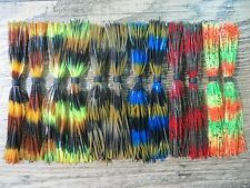 12 - E&F PRO SERIES STRIPPED SKIRTS - 60 STRAND  - SPINNERBAIT OR JIG SKIRTS