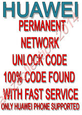 UNLOCK CODE FOR AT&T USA  Huawei Fusion U8652 Unlock Code