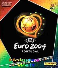 PANINI - FUßBALL  EM 2004 - 54 verschiedene Sticker keine doppelt