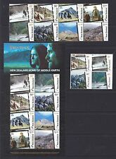New Zealand 2004 Lord of the Rings -Middle Earth Set + MSheet + S-adhesives MNH