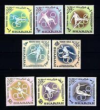 EMIRATI ARABI - SHARJAH - 1964 - Giochi olimpici di Tokio