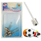 5 x Football Inflating Needle Pump Adapter Valve for Inflatable Balls Bicycles